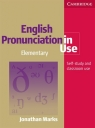 English Pronunciation in Use Elementary Book with Answers, with Audio Marks Jonathan