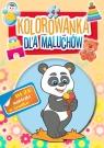 Kolorowanka dla maluchów 4. Panda