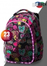 Coolpack - Joy M - Plecak Młodzieżowy -  Led Emonticons (A20205)