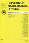 Reports on Mathematical Physics 63/3 2009 Kraj