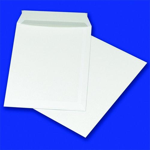 Koperty z taśmą silikonową C4 229x324mm 90gsm 50szt białe (15223613-14)