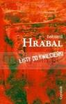 Listy do Kwiecieńki Hrabal Bohumil