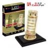 Puzzle 3D Krzywa wieża  (L502H)