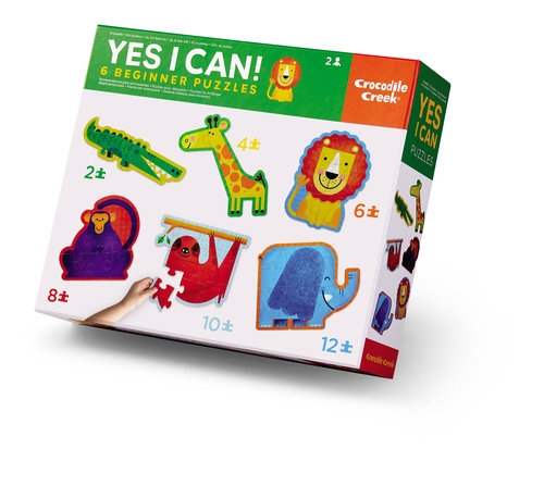 Puzzle Yes I can Dżungla