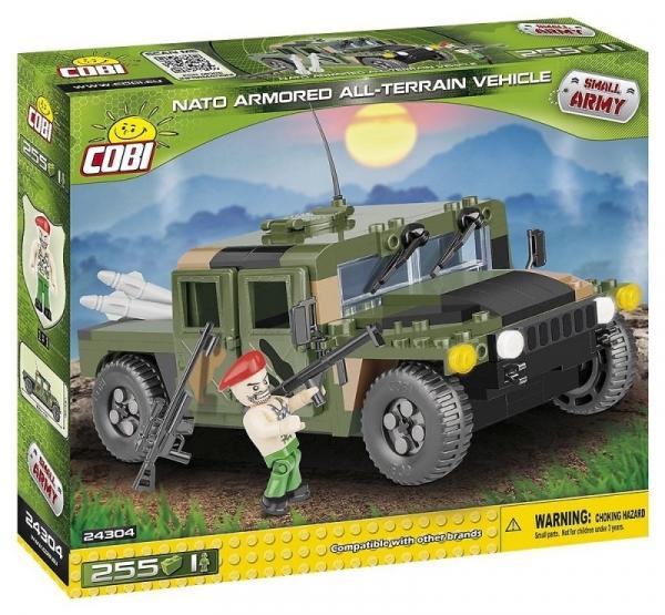 Cobi: Mała Armia. NATO Armored ALL-Terrain Vehicle (24304)