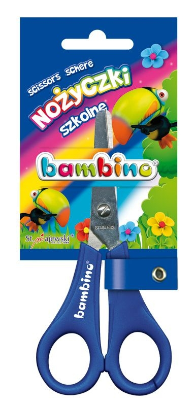 Nożyczki szkolne, licencja BAMBINO