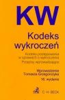 Kodeks wykroczeń Kodeks postępowania w sprawach o wykroczenia Przepisy wprowadzające