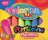 Plastelina Colorino Kids neonowa, 6 kolorów (42666PTR)