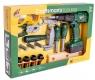 Zestaw narzędzi z wiertarką na baterie (105666)