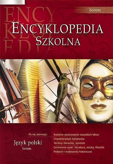 Encyklopedia szkolna. Język polski (Uszkodzona okładka) Agnieszka Nawrot (red.)
