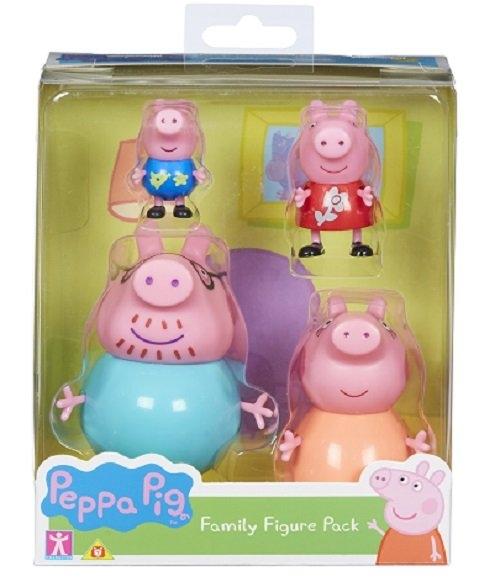 Świnka Peppa: Zestaw 4 figurek (PEP06666)