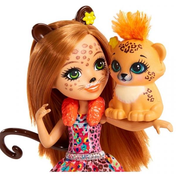 Enchantimals. Cherish Cheetah & Quick-Quick (FNH22/FJJ20)