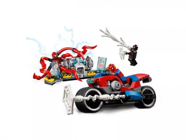 Lego Marvel: Pościg motocyklowy Spider-Mana (76113)