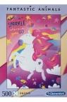 Puzzle 500: Fantastic Animals - Jednorożec (35066)