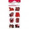 Zestaw dekoracyjny - czerwony (412675)