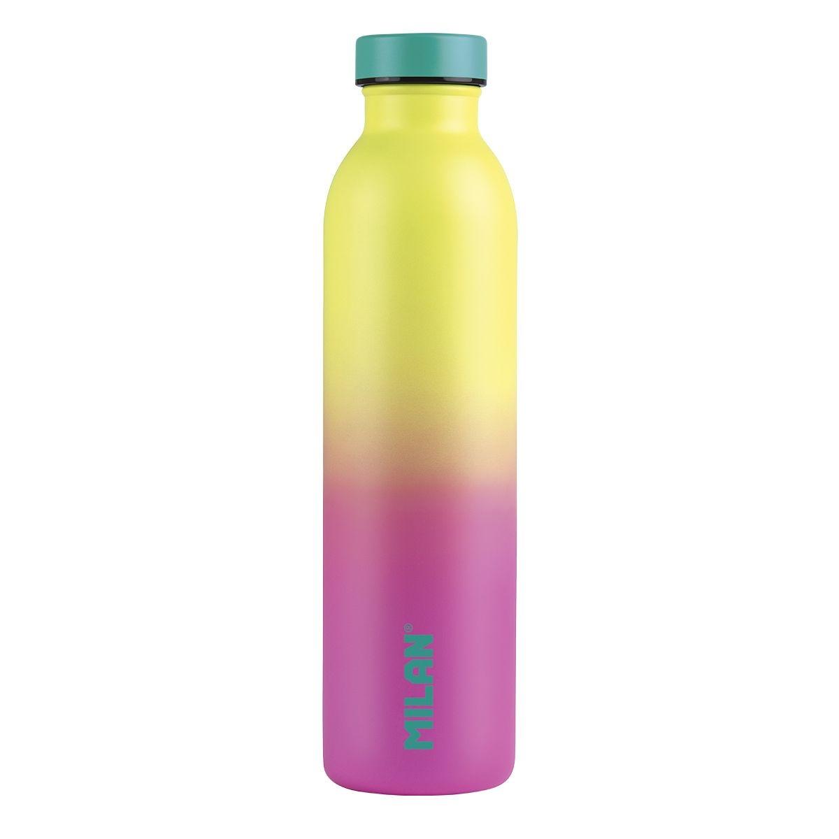 Butelka termiczna 591 ml Milan Sunset - żółto-różowa (643020SN)