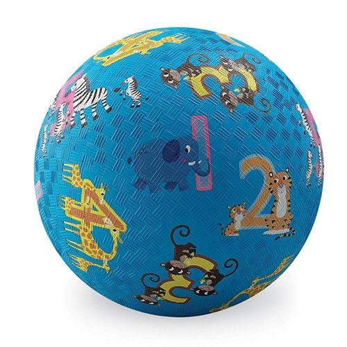 Piłka  13 cm Dżungla 123