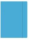 Teczka z gumką A4 niebieska