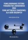 Funkcjonowanie systemu poradnictwa zawodowego oraz form aktywizacji zawodowej Becker-Pestka Daria