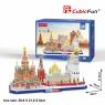 Puzzle 3D: Cityline - Moskwa