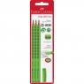 Zestaw Grip 2001 B 3x ołówek + gumka jasnozielony (580266)