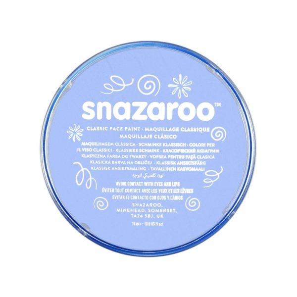 Farba do twarzy i ciała Snazaroo 18ml - niebieska jasna (1118366)
