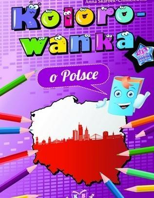 Kolorowanka o Polsce Anna Skarbek-Chmielewska
