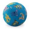 Piłka 7'', 18cm, wzór Dżungla