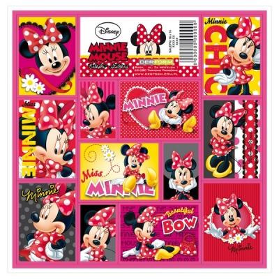Naklejki 16x16 Minnie