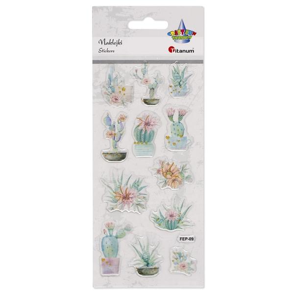 Naklejka (nalepka) Titanum Craft-fun kaktusy