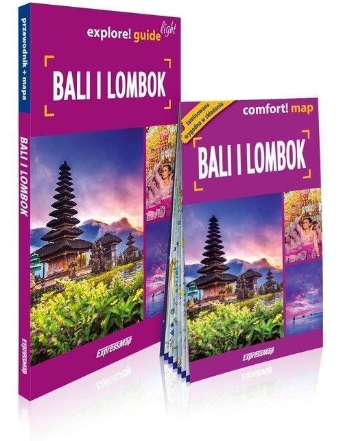 Bali i Lombok light przewodnik+mapa Kalicka Anna, Nitka Adam