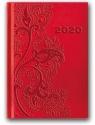 Kalendarz 2020 Tygod. B6 Vivella Czerwony 41TE-09