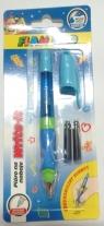 Pióro wieczne na naboje ergonomiczne niebieskie