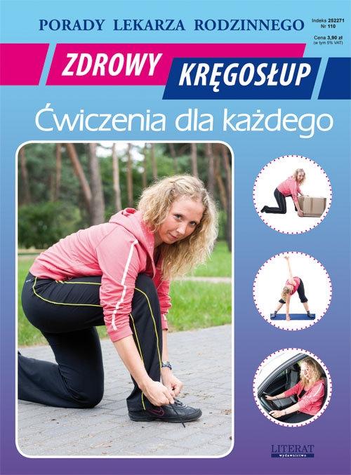 Zdrowy kręgosłup Ćwiczenia dla każdego Chojnowska Emilia