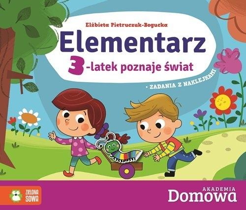 Domowa Akademia Elementarz 3-latek Elżbieta Pietruczuk - Bogucka