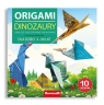 Zeszyt origami Dan-Mark 21x21 Dinozaury