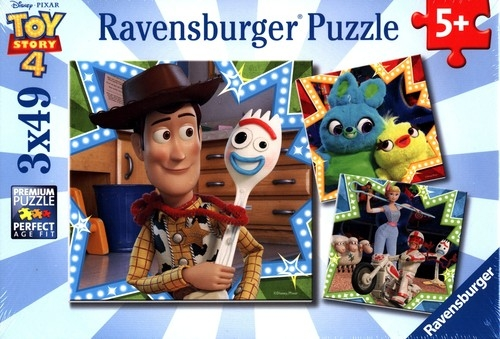 Puzzle 3x49: Toy Story 4 (080 067 0)