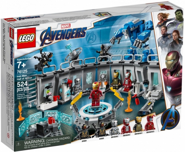 Lego Marvel Super Heroes: Zbroje Iron Mana (76125)
