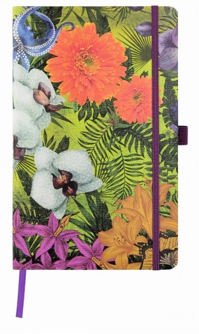 Notatnik 13x21cm linia Castelli Eden Orchid