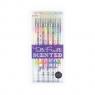 Długopisy Żelowe Pachnące Wielokolorowe Tutti Fruitti 6 długopisów