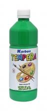 Farba tempera w butelce Karbon zielona 550ml