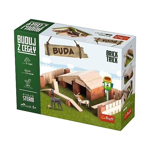 Puzzle 3D Buduj z cegły Buda S (60867)