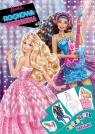 Barbie Rockowa Księżniczka Kolorowanka i naklejki