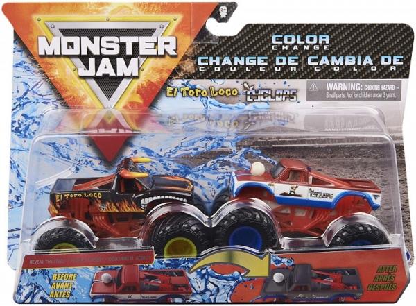 MONSTER JAM El toro loco vs Cyclops (6044943/20124307)