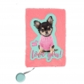 Pamiętnik pluszowy Studio Pets (PQD-3670)