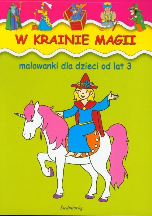 Malowanki W krainie magii (dodruk na życzenie) Żukowski Jarosław