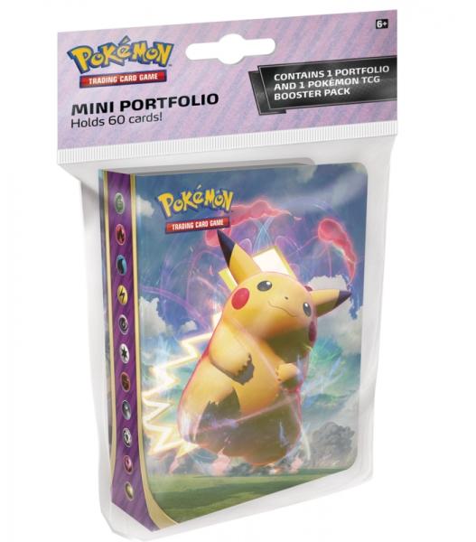 Pokemon TCG: Vivid Voltage - Album Mini na 60 kart + booster (80767)