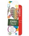 Kredki Stabilo Easycolors dla leworęcznych 6 kolorów + temperówka