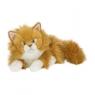 Kot rudy długowłosy 25cm