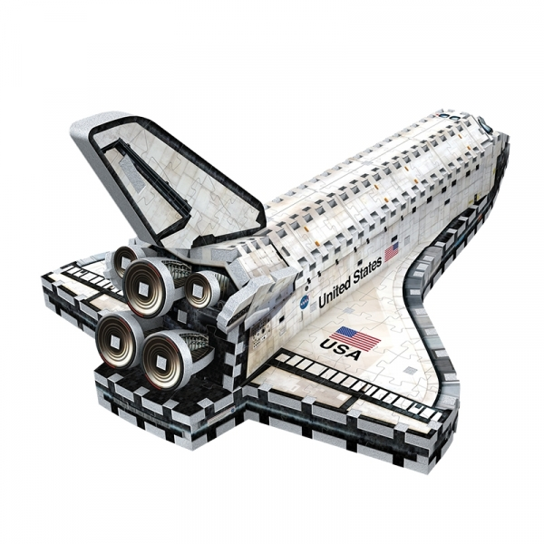 Puzzle 3D. Space shuttle orbiter 435 elementów (01008)